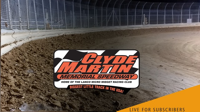 LIVE 7/31 | Micro Sprints @ Clyde Martin Speedway (Lanco)
