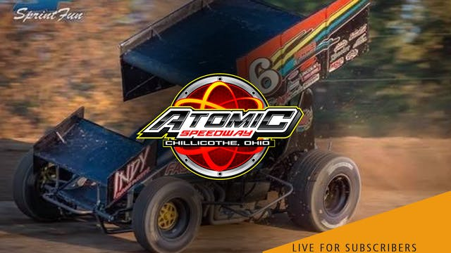 VOD | 410 Sprints & Late Models @ Ato...