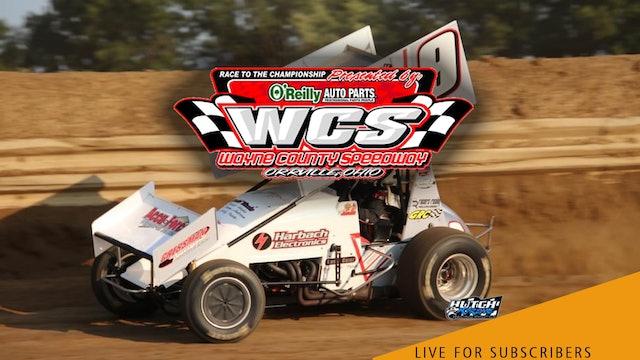 VOD   410 Sprints @ Wayne County Speedway Sept 5, 2021