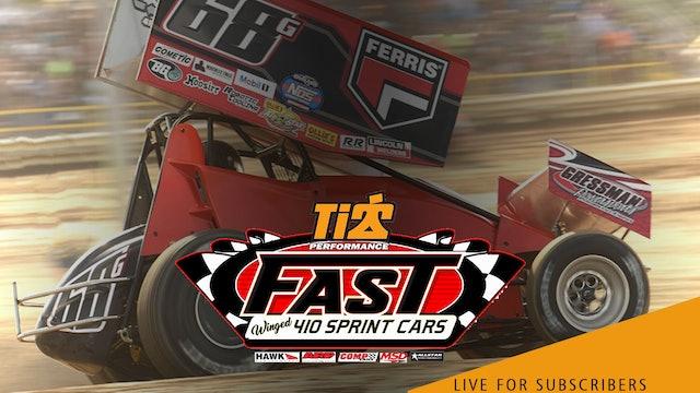 VOD   FAST Series 410 Sprints @ Twin Cities Raceway Park June 26, 2021