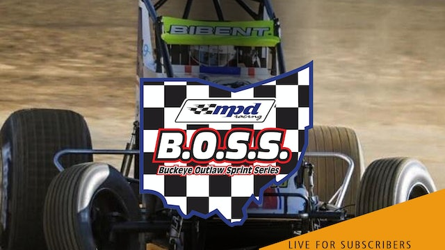 VOD | BOSS Non-Wing Sprints @ Gas City Speedway May 14, 2021