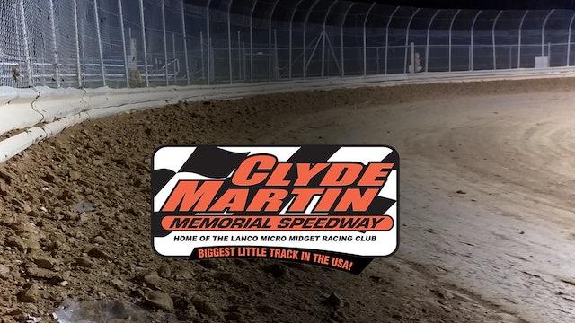 VOD | Micro Sprints @ Clyde Martin Speedway April 3, 2021
