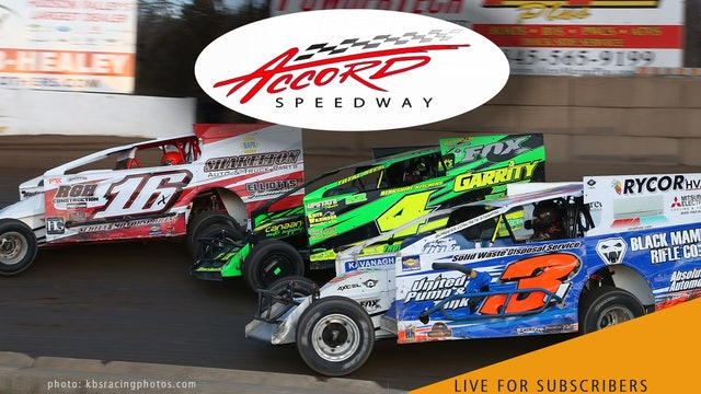 VOD | Modifieds @ Accord Speedway Sept 3, 2021
