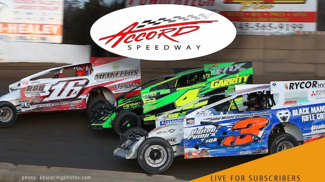 VOD | Modifieds @ Accord Speedway Aug...