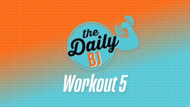 Workout 5: Dumbbells & Bands
