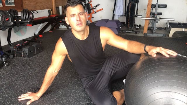 July 2019 – Stability Ball Bodyweight