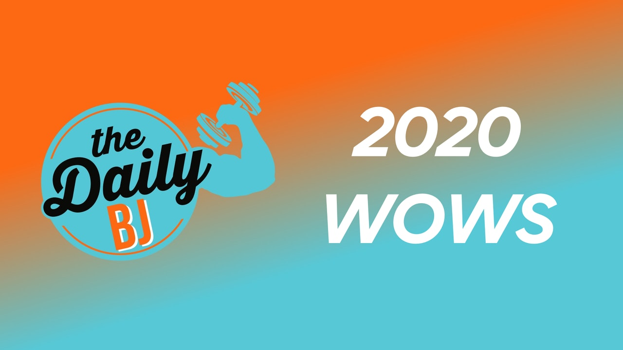 2020 WOWs