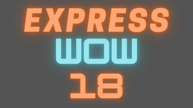 2021 EXPRESS WOW 18