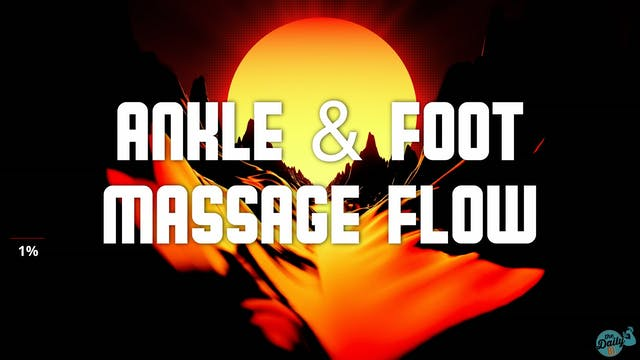 10-Minute Ankle and Foot Massage Flow