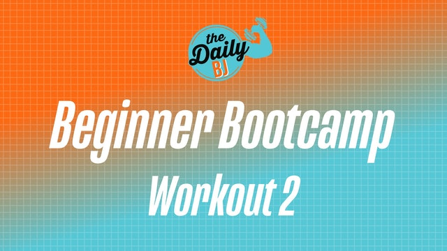 Wednesday: Workout 2