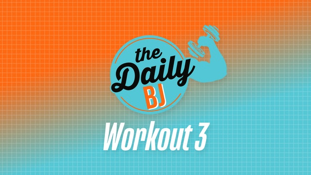 Workout 3: Single Pair of Dumbbells