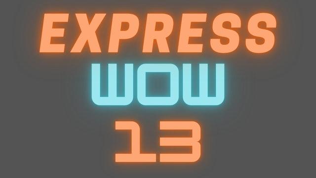 2021 EXPRESS WOW 13