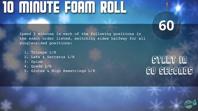 10-Minute Cool-Down: Foam Roll Flow