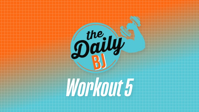 Workout #5 – Equipment-free