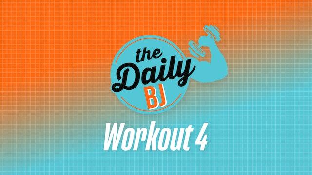 Workout 4: Premium Equipment Bodyweight