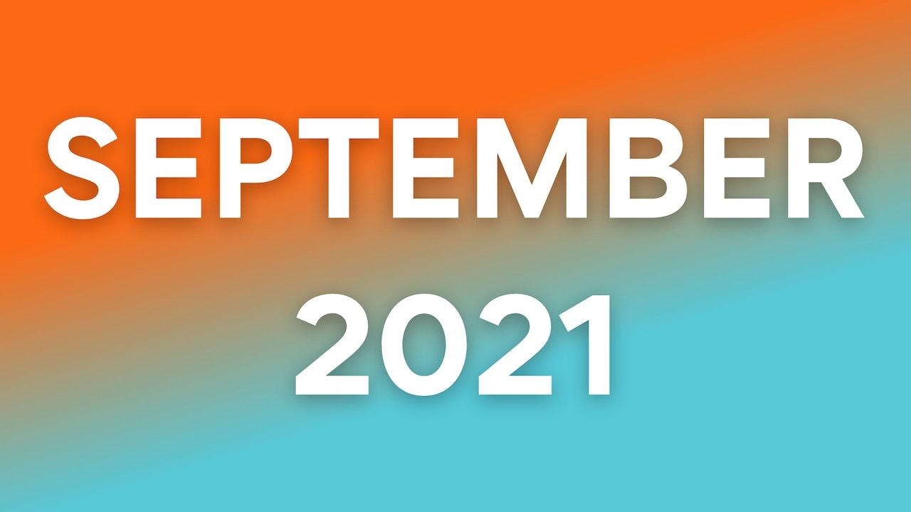 September 2021 WOWs