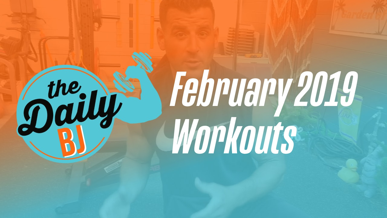 February 2019 Workouts