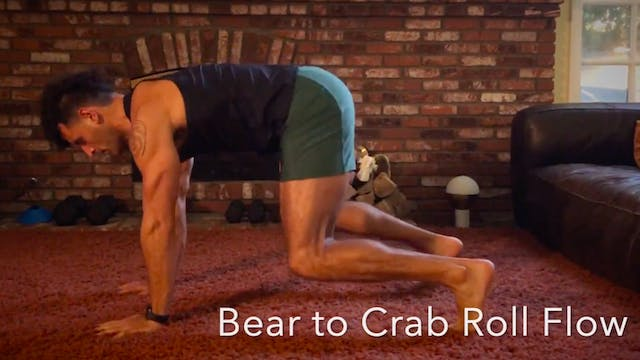 Bear to Crab Roll Flow