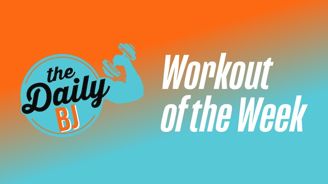 WOW MARCH 2020 WEEK 4: BERZERK BODYWEIGHT BLASTER!