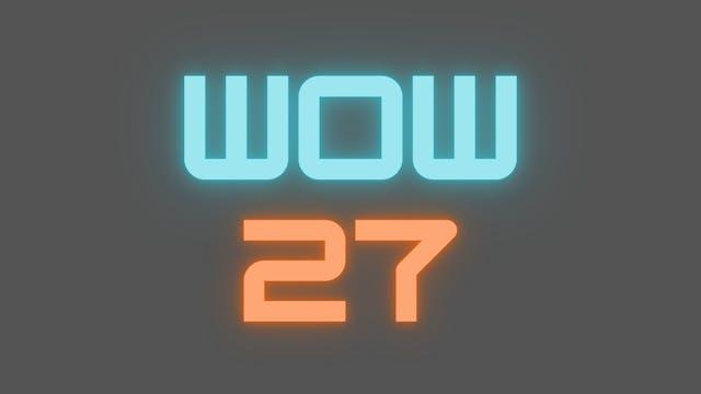 2021 WOW 27 Follow-Along Workout
