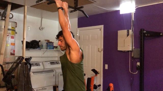Hangs/Pullup Mobility Flow
