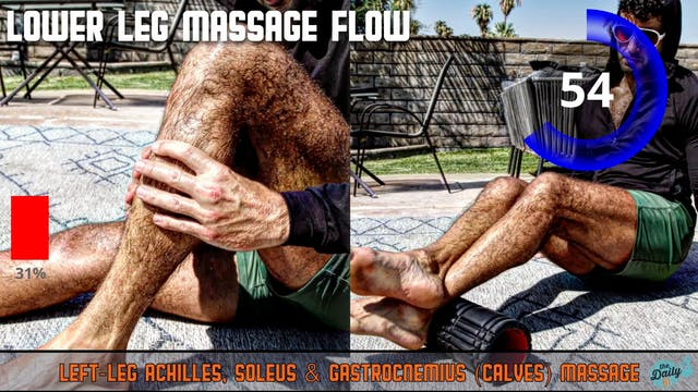 10-Minute Lower-Leg Massage Flow