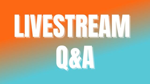 Livestream Q&A October 2021 Week 2
