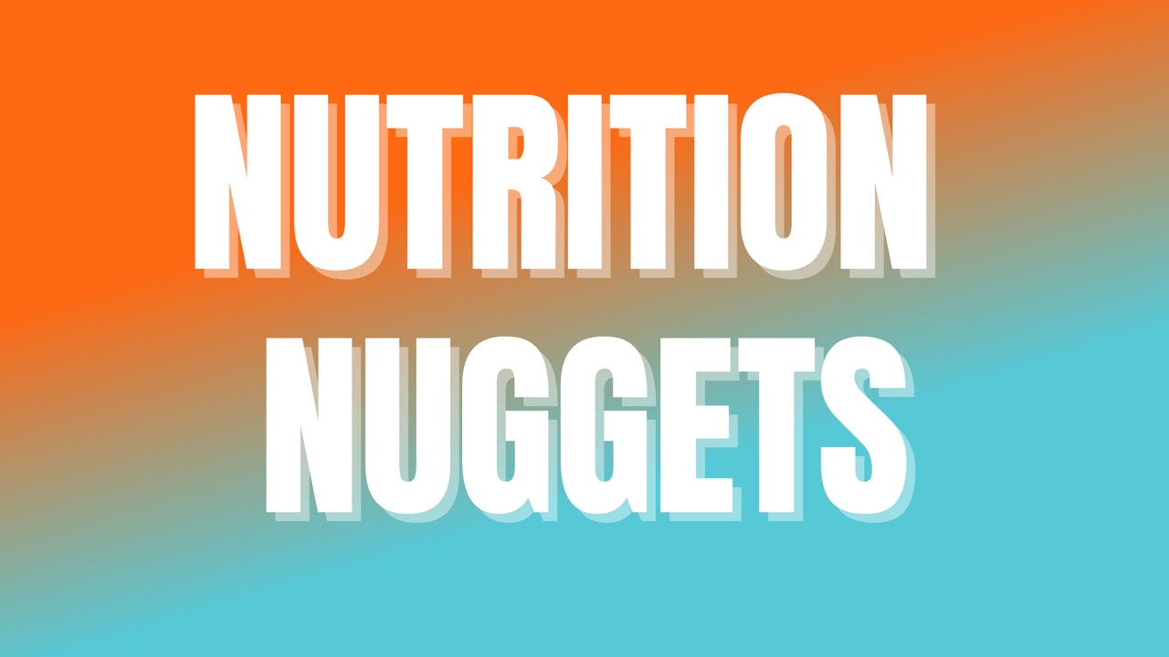 Nutrition Nuggets: 9-Week Course