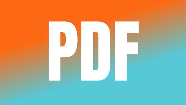 WOW Week 2 January 2020 PDF Cheat Sheet