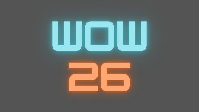 2021 WOW 26 Follow-Along Workout