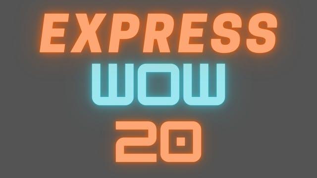 2021 EXPRESS WOW 20