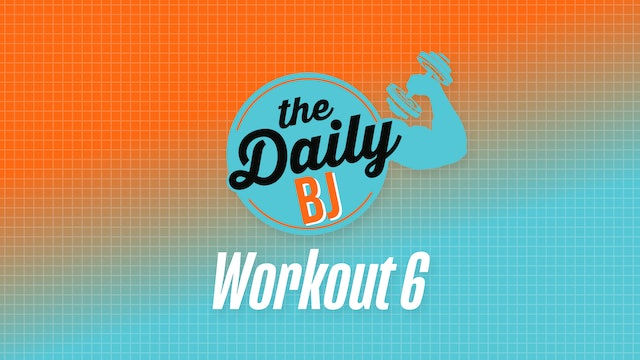Workout #6 – Equipment-free