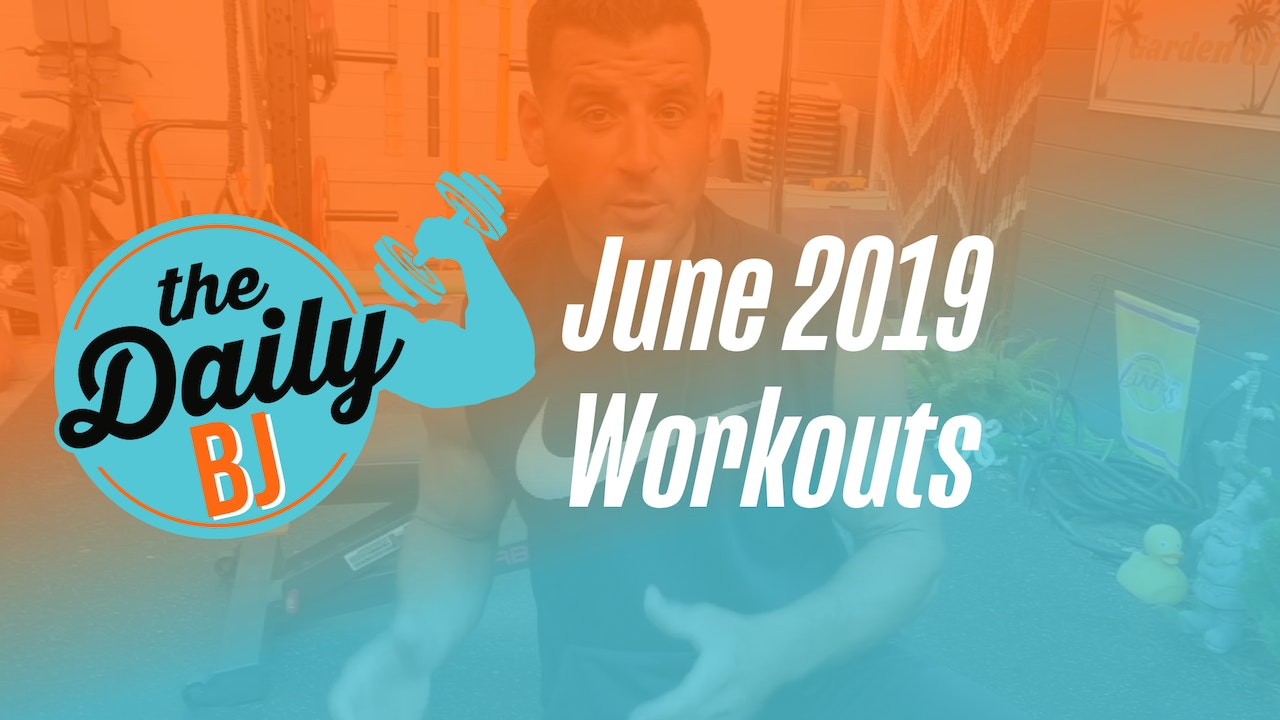 June 2019 Workouts