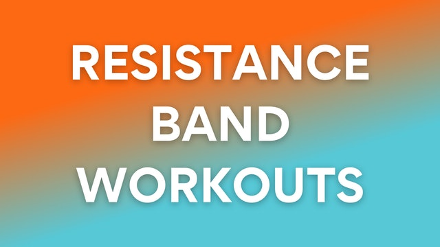 SUPER HOME FRIENDLY - Resistance Band Workouts