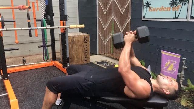 May 2019 – 2 Dumbbells (1 Heavy & 1 Light)