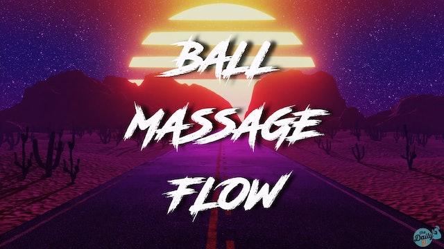 10-Minute Cool-Down: Ball Massage Flow