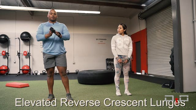 Individual Workout 61 - Elevated reve...