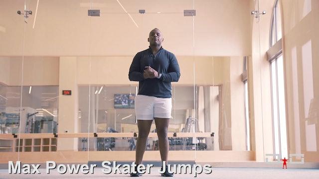 Individual Workout 93 - Max Power Skater Jumps