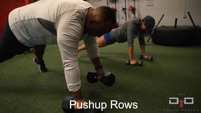 Individual Workout 37 - Pushup Rows