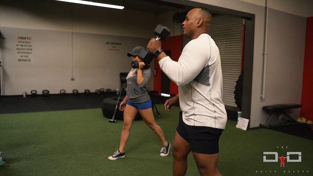 Individual Workout 18 - Arm Split Clean