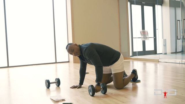 Individual Workout 87 - SlidingDumbbellRow
