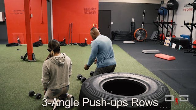 Individual Workout 52 - 3-angle push-...