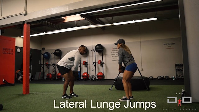 Individual Workout 26 - Lateral Lunge Hops