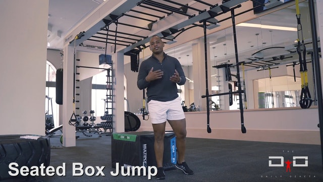 Individual Workout 91 - Seated Box Jump