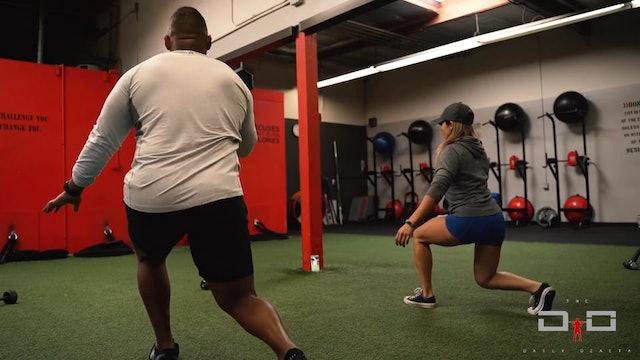 Individual Workout 19 - Split Jack