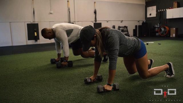 Individual Workout 36 - Bear Rows