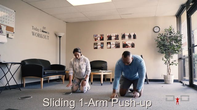 Individual Workout 70 - Sliding 1-arm...