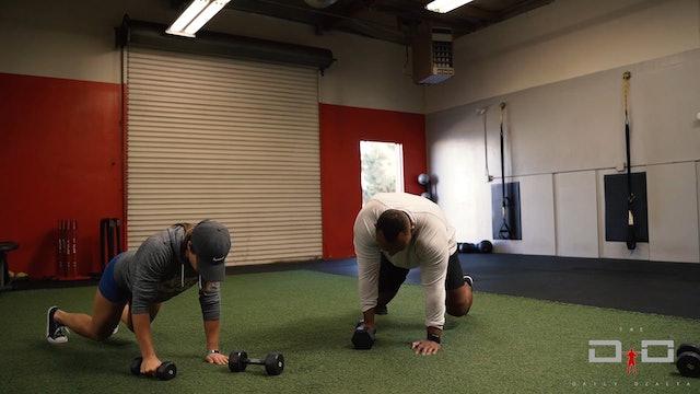 Individual Workout 15 - Arm Bear Row