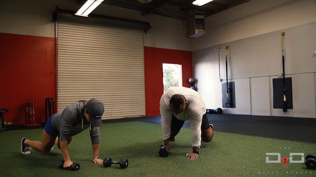 Individual Workout 15 - Arm Bear Row