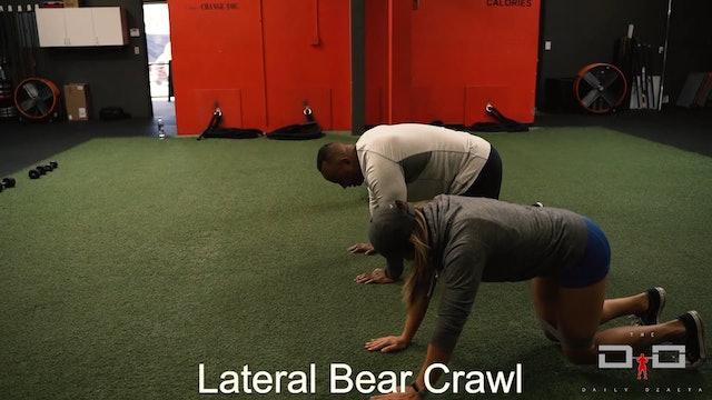 Individual Workout 9 - Lateral Bear Crawl